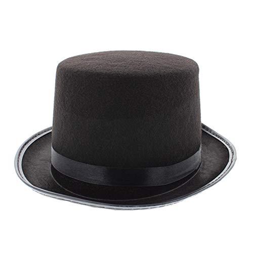 Alter Egos Kostüm - Zac's Alter Ego® Kostüm, viktorianischer Hut, Schwarz