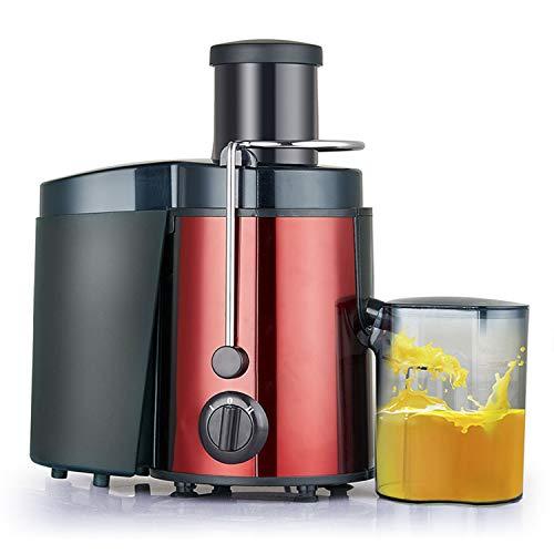 HDH Tragbare Mini Haushalts Entsafter Sojamilch Mixer Elektrische Saft Tasse Multifunktionale Entsafter Wasserflasche Kleine Wiederaufladbare Saft Tasse Gemüsesaft (Farbe : Red)