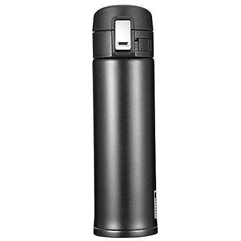 Newdora Bouteille isotherme en acier inoxydable, 500ml