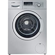 Bosch 7 kg Fully-Automatic Front Loading Washing Machine (WAK24268IN, silver/grey)