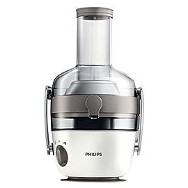 Philips HR1918/80 Centrifuga per Succhi di Frutta e Verdura, Tecnologia Fiberboost, Quickclean Plus per Pulizia Facile…