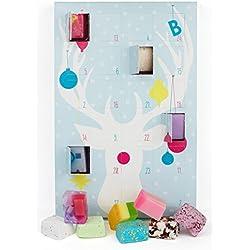 Calendario de Adviento Azul de bombas de agua y jabones de Bomb Cosmetics «Countdown to Christmas»