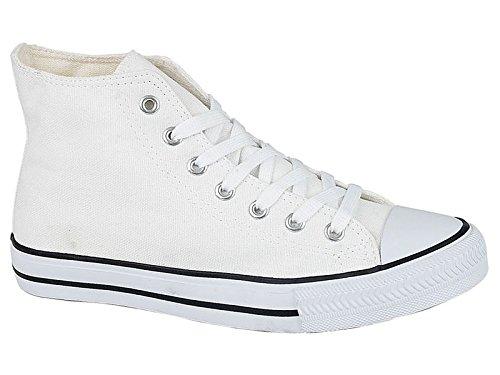 Foster Footwear , Damen Sneaker Hi Top: White