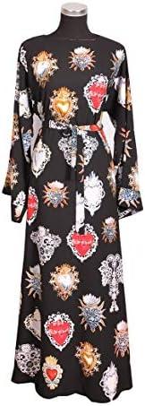 Printed Abaya, dress comes with black hijab