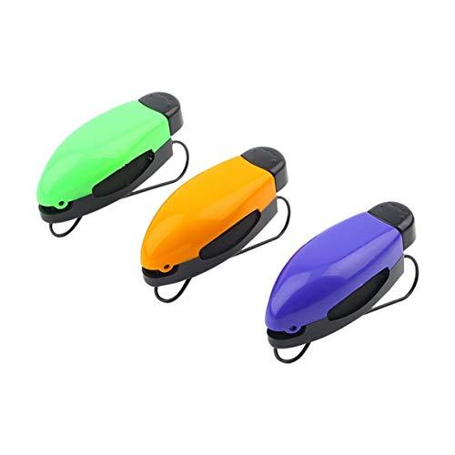 WEIWEITOE ABS Auto Fahrzeug Sonnenblende Sonnenbrillen Brillen Brillenhalter Karte Ticket Pen Clip Automotive Zubehör zufällig