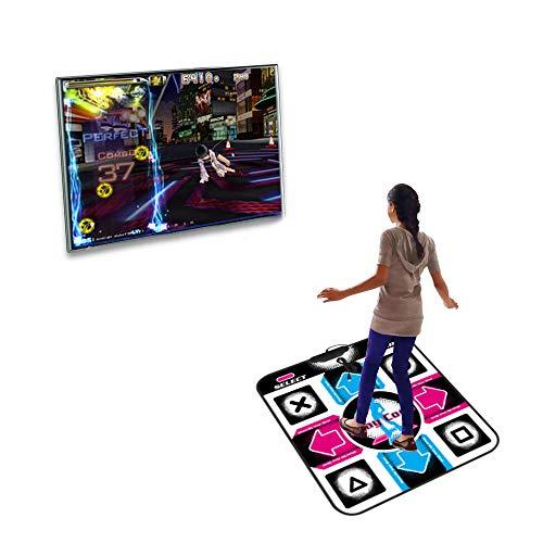 Decdeal Tanzmatte Tanzen Step Pad Spielmatte Tägliches Training rutschfeste Tanzdecke Universal USB-Stecker für PC -