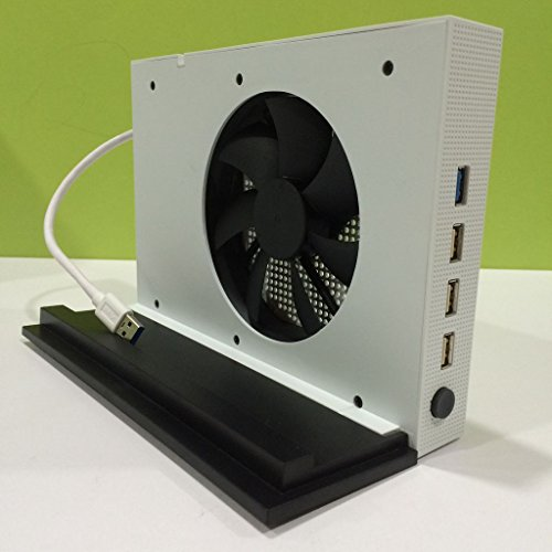 Better-Style-Xbox-One-Slim-Cooler-Vertical-Stand-Base-Holder-Mount-Cooler-USB-HUB-For-Xbox-One-Slim