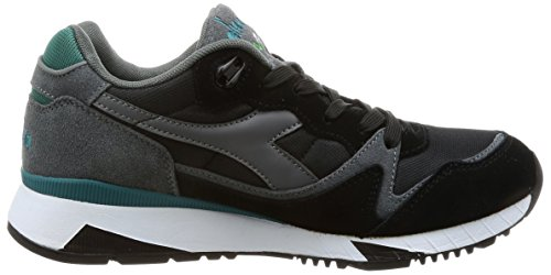 Diadora V7000 Nyl II, Sneaker Uomo Grigio (Steel Grey/Black/Shaded Spruce)