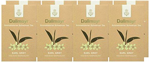 Dallmayr Aromatisierter Schwarztee – Earl Grey, 8er Pack (8 x 100 g )