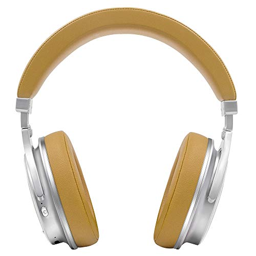 XZZ Bluetooth-Headset drahtloses Headset Hi-Fi-Stereo-Headset mit Geräuschminderungsmikrofon unterstützt PC/Handy,Yellow