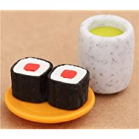 Gomma per cancellare Sushi tè verde dal Giappone