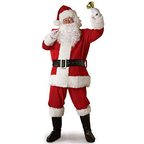 CVCCV Weihnachtskostüme Santa Anzüge Weihnachten Cosplay Silvesterparty Performance Kostüme Spandex - Santas Sexy Elfen Kostüm