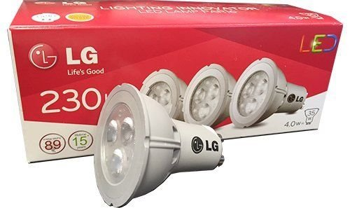 LG LED-SPOT PAR16 GU10 827 4W (Spot Par16)