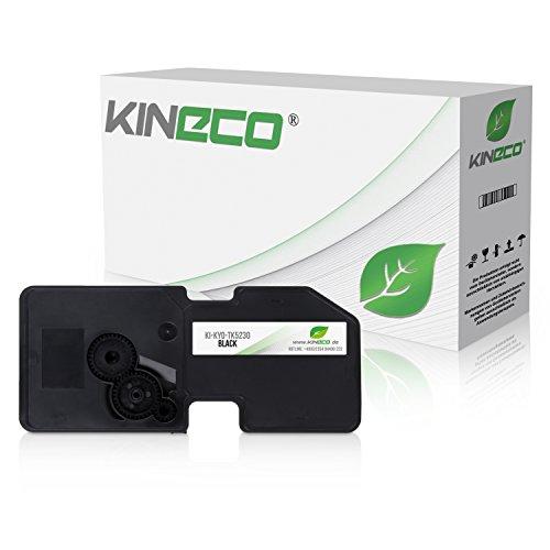 Kineco Toner kompatibel zu Kyocera TK-5230 für Kyocera Ecosys M-5521cdn M-5521cdw P-5021cdn P-5021cdw - Schwarz 2.600 Seiten