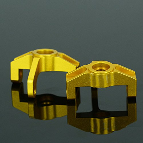 Haodasi Upgrade Parts Gold Metal Steering Cup Block Lenkung Tasse Block L6083 for 1/14 Scale LC Racing Cars