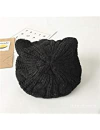 Chapeau de chapeaux de mode Chapeaux d automne et d hiver enfants chat  oreilles peintre chapeau bébé béret bonnet… 32f8f1c6a25