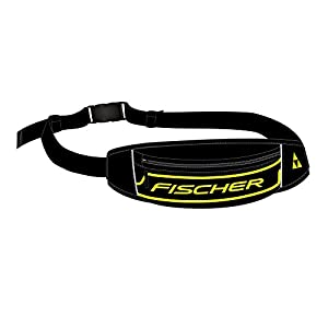 Fischer Unisex– Erwachsene Waistbag, schwarz/gelb, One Size