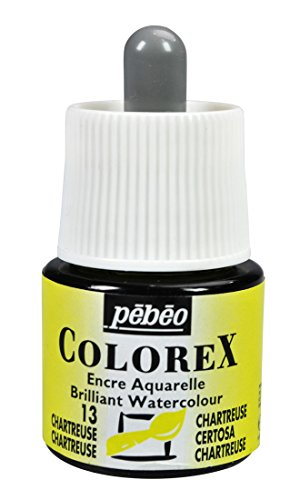 Colorex Aquarelltinte, PET, Chartreuse, 4.5 x 4.5 x 7 cm, 1 Einheiten
