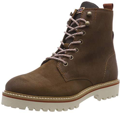 NAPAPIJRI FOOTWEAR Damen Hilda Biker Boots, Braun (Cognac N45), 41 EU