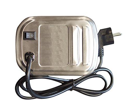 Cook'in garden AC084 Moteur Tournebroche Électrique Inox 20,5 x 11,5 x 10 cm