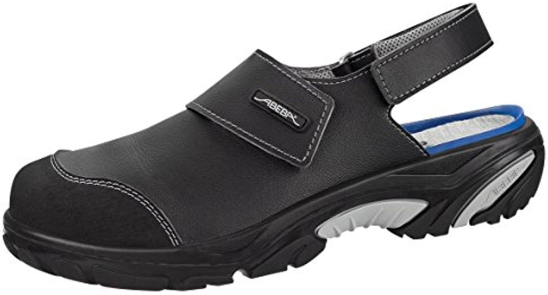 Abeba 4556 – 36 Crawler zapato de seguridad sandalia negro, Negro, 4556-48