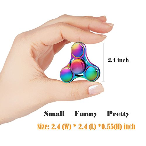 Fidget Spinner Hand Tri Finger Gyro Toy – Stress Relief & Anxiety ADD ADHD