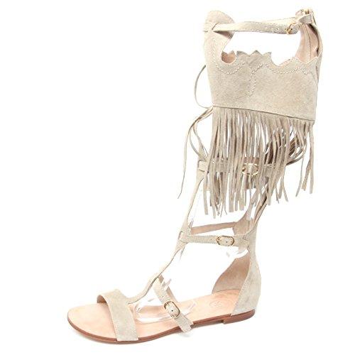 ASH B3046 Sandalo Donna Margot Scarpa Beige Sandal Shoe Woman [38]