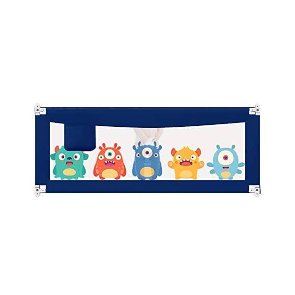 Playpens Crib Guardrail Baby Shatter-resistant Fence Large Bed 1.5-2.0 Meters Children Against Bedside Baffle (color : C, Size : 2.0M) Playpens ★ high quality non-toxic materials,Size:150cm/180cm/200cm ★ Vertical lift structure: no space is occupied, and it is more convenient to enter and exit. Push the fence down at the push of a button ★ height adjustment: can be adjusted according to the thickness of the mattress, so that the bed is close to the mattress. Avoid gaps between the mattress and the guardrail to prevent your child from falling 19