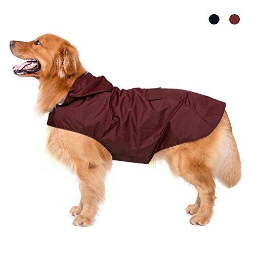 Impermeable perro con capilla