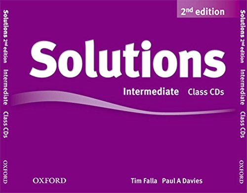 Solutions Intermediate: Class CD 2nd Edition (3) (Solutions Second Edition) - 9780194554251