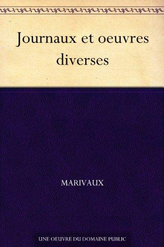 Couverture du livre Journaux et oeuvres diverses