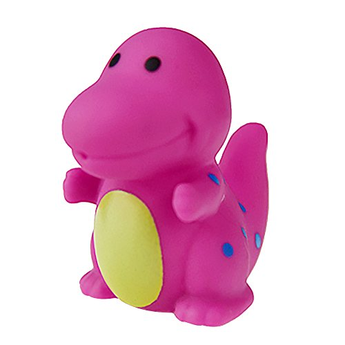 Wascoo Toys für Kinder Kindertagesgeschenk EIN Dutzend 6 Stück Gummitiere mit Sound-Baby-Dusche begünstigen Spielzeug
