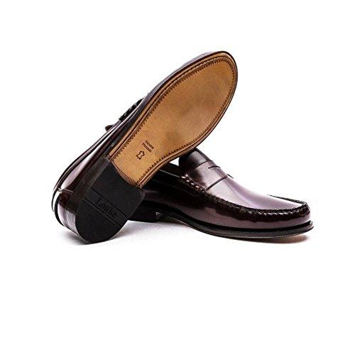 Loake Princeton Black Marron - marron