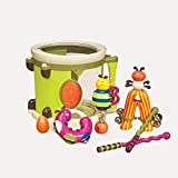 B. Toys - Parum Pum - Toy Drum Kit with 7 Musical Instruments for Kids 18 Months + (7-pcs)