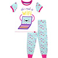 Harry Bear Girls Pyjamas All I Need is WiFi