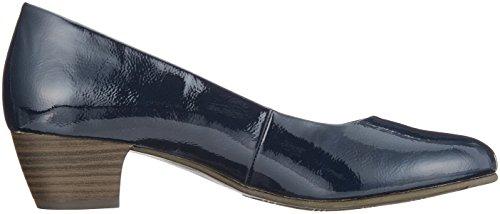 Softline 22360, Escarpins Femme Bleu (Navy Patent)