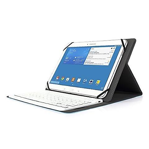 Coque Tablette 9 Pouces - Clavier Bluetooth AZERTY français, CoastaCloud Étui Housse