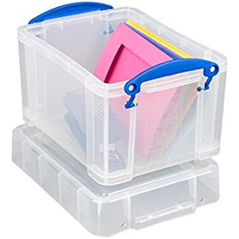 Really Useful Storage Box 3 Litre Clear