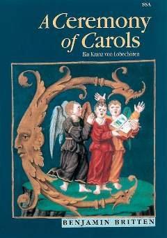 A CEREMONY OF CAROLS OP 28 - arrangiert für Frauenchor - Harfe - (Klavier) [Noten / Sheetmusic] Komponist: BRITTEN BENJAMIN