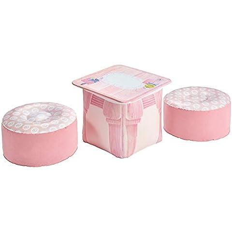 Dream Town - Set cocina Rose Petal Cottage, color rosa (Worlds Apart 215RPL)