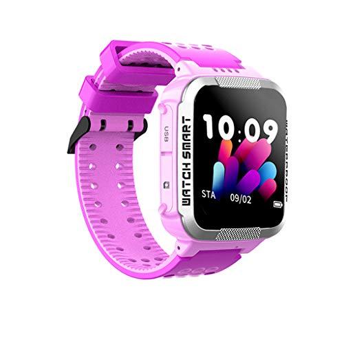 Cloodt Neu wasserdichte Kinder-Smartwatch-Handy Verfolgung und Positionierung der Smartwatch Sport Edelstahl Mesh Dünne Armbanduhren (PK) -