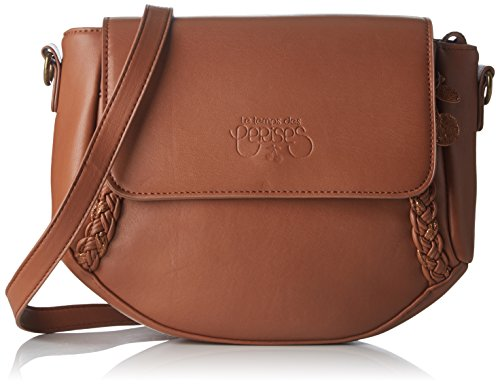 Le Temps des Cerises Damen Phoebe 4 Brieftasche, 25 x 22 x 8 cm Orange (Camel)