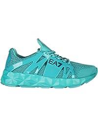 Emporio Armani EA7 Scarpe Sneakers Donna Nuove Originale Ultimate Cage  Memory FO e76dd0ba483