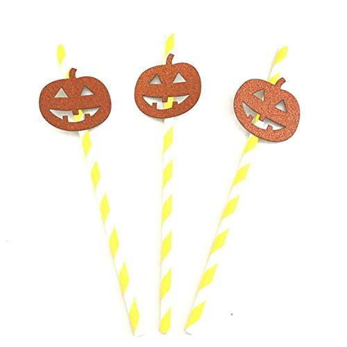 troh Bühne Eigenschaft Halloween Kreative Bunte Stroh schießen Requisiten lustige Persönlichkeit Party eingerichtet Party ()