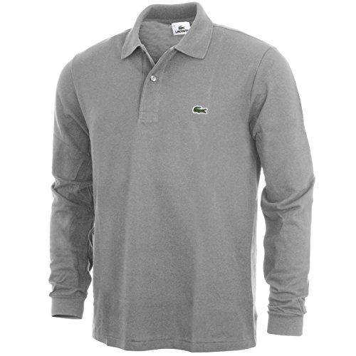 Lacoste Herren Poloshirt L1312 - 00 Grau (PLATINE KC8)