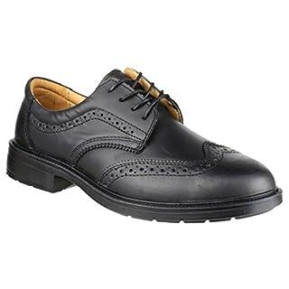 Amblers Steel FS44 Safety Brogue / Mens Shoes / Safety Shoes (9 UK) (Black)