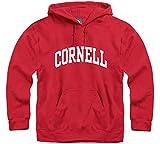 Ivysport Universidad de Cornell Sudadera con Capucha Classic Logo, 80% algodón/20% poliéster, Rojo, Sudadera con Capucha - 130-XL, Rojo
