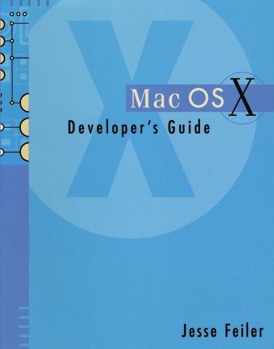Mac OSX Developer Guide by Jesse Feiler (2001-10-19)