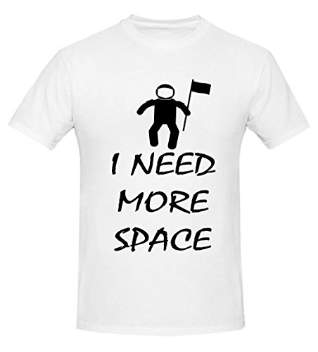 I Need More Space Small Hombres T-shirt