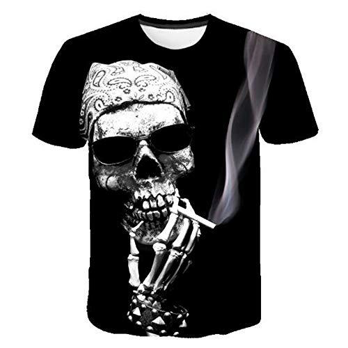 n Tank Top Fitness Ärmelloses Shirt Herren Bekleidung Sportswear Unterhemd Sommer,Lustiger Druck schwarz 4XL ()